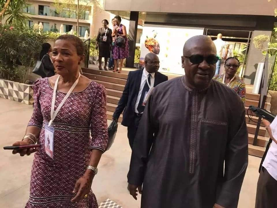Mahama in Morocco for women in agriculture summit