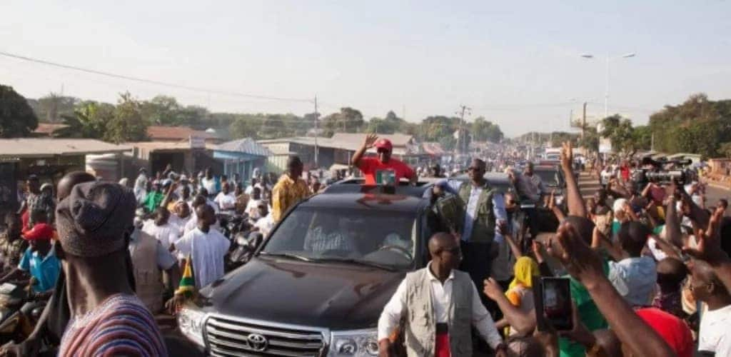 Top 8 events events that best describe Ghana's crazy politics