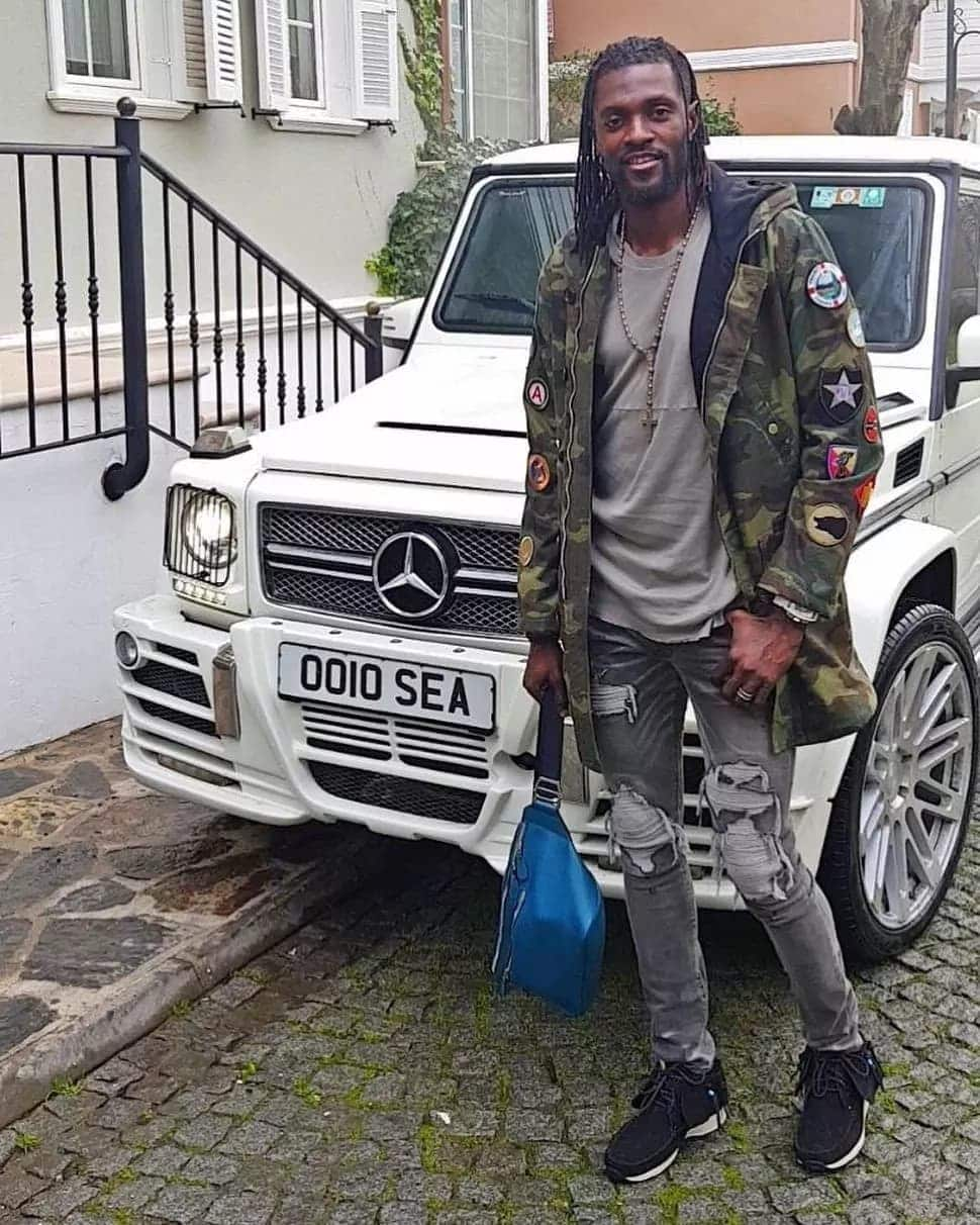 Photos detail the luxurious lifestyle of footballer Sheyi Adebayor