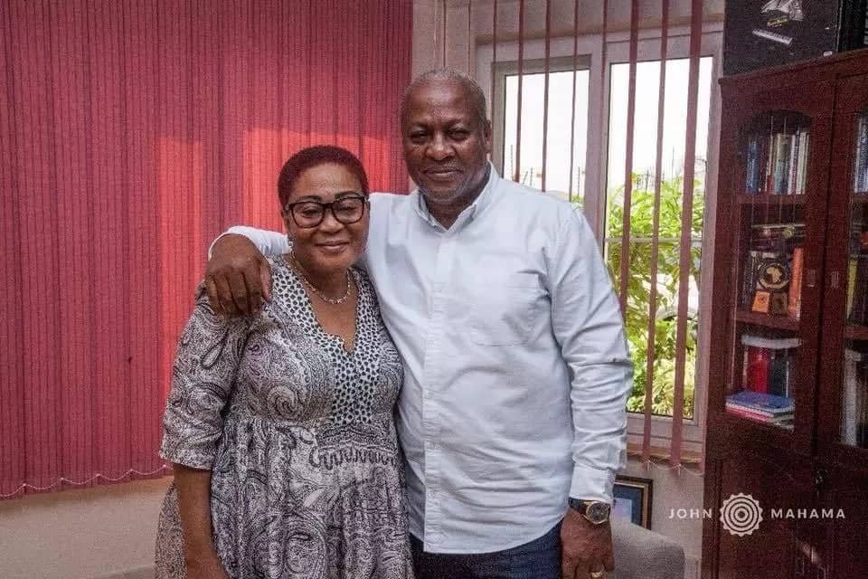 Former president Mahama shares best birthday moment