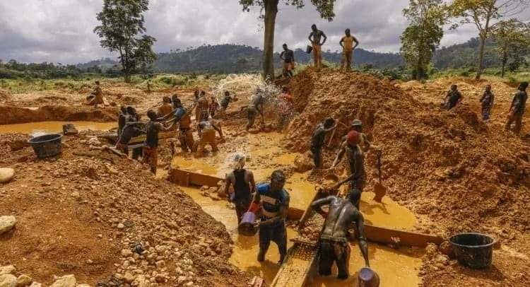 Image result for galamsey