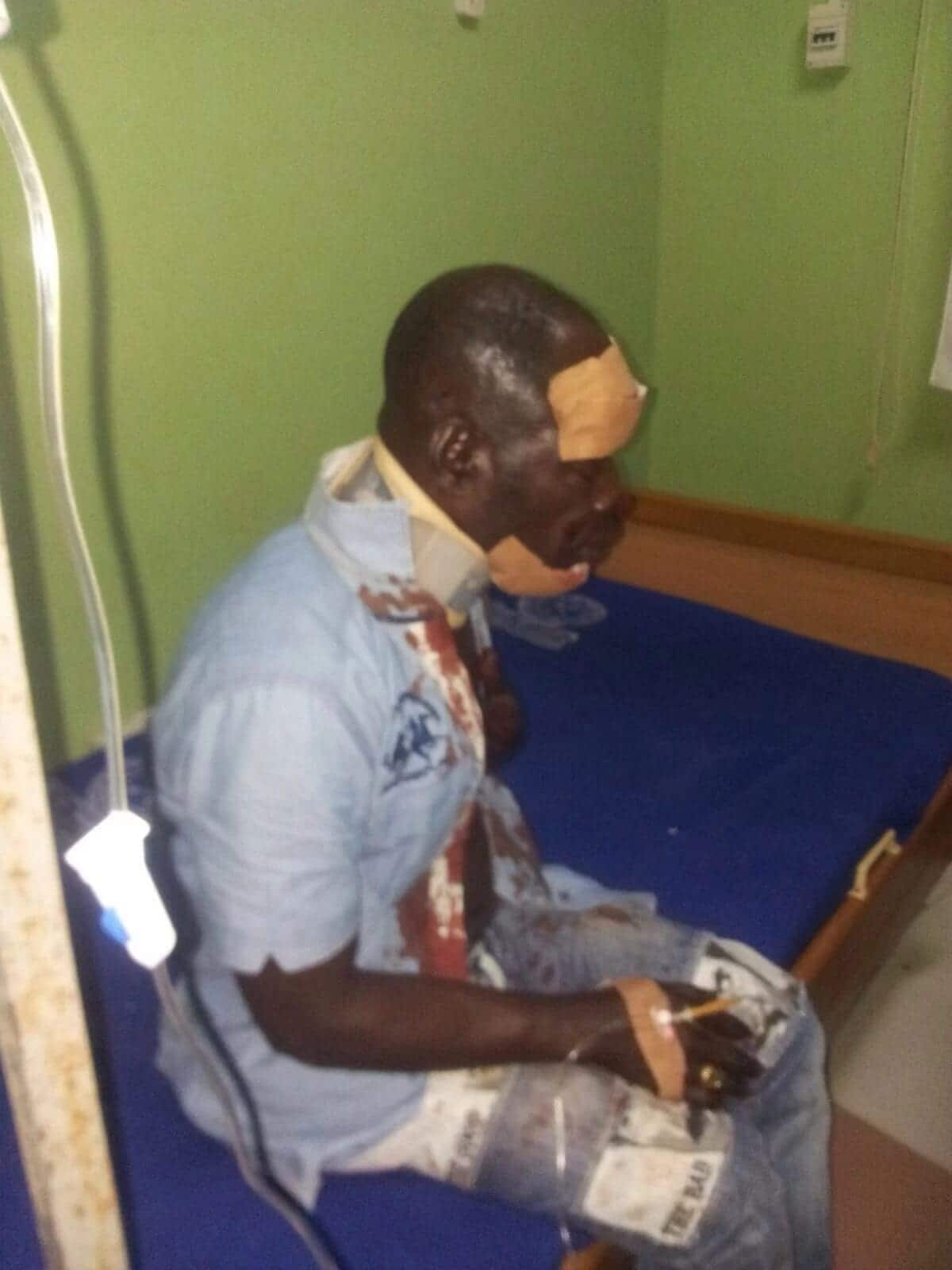 Amakye Dede Survives Gory Accident