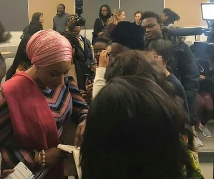 PHOTOS: Second Lady Samira dazzles as a guest lecturer in the US