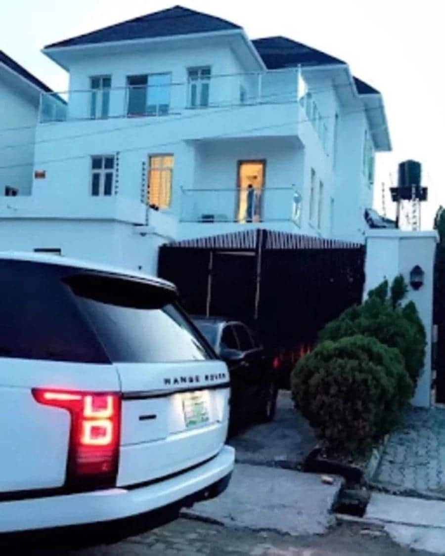 Davido car and house