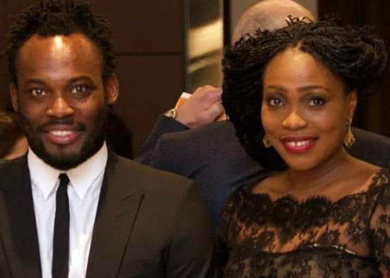 michael essien's wife, michael essien wife photos, michael essien and his wife