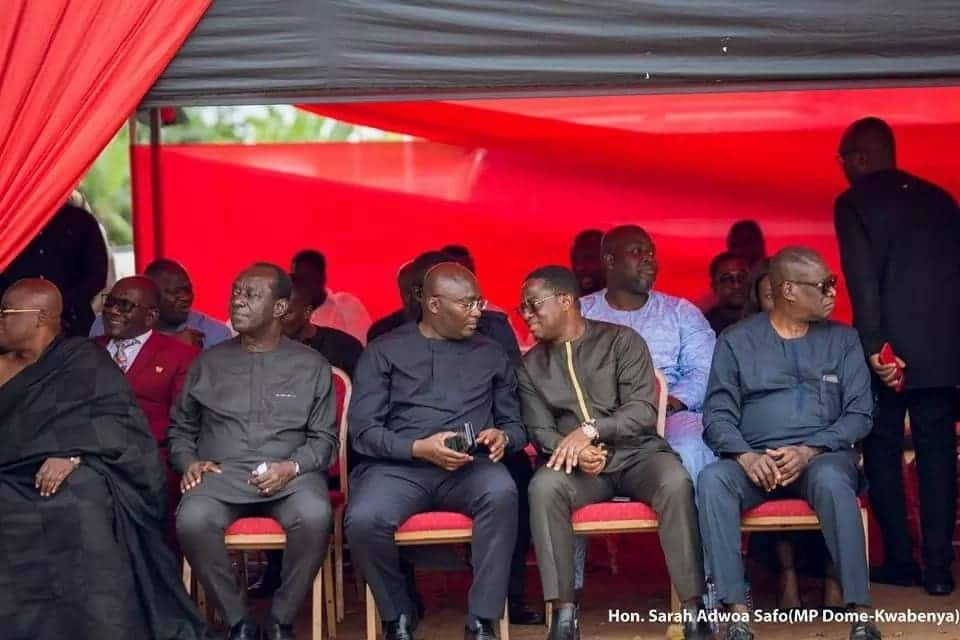 One-week observance of Adwoa Safo's mum in photos