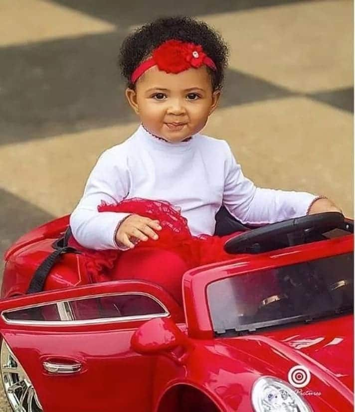 Photos: The 'celebrity kid' that is challenging Titi, Catherine and Majesty