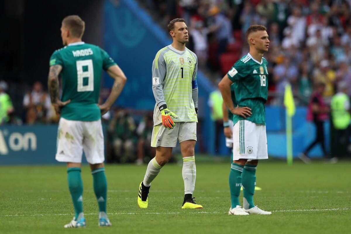 Germany beaten