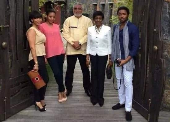 Former first family of Ghana in family photoshoot