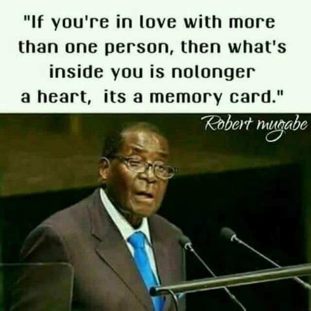 Funny Robert Mugabe quotes