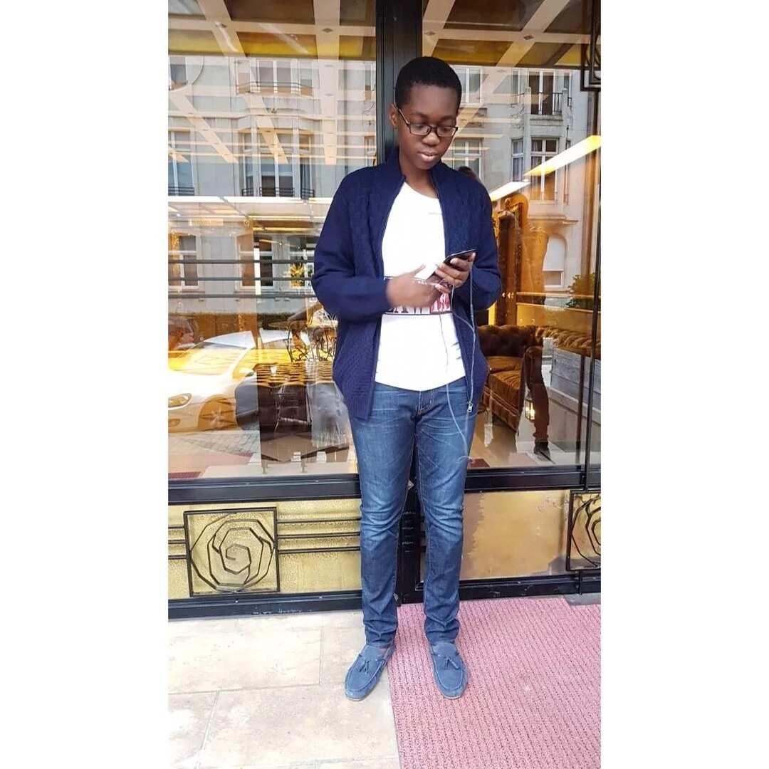 John Mahama's son Jesse Mahama turns 15
