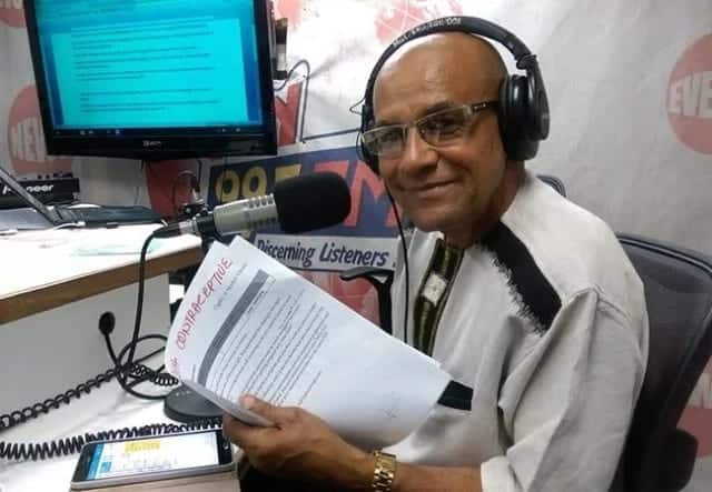 Veteran journalist reveals his humble beginnings