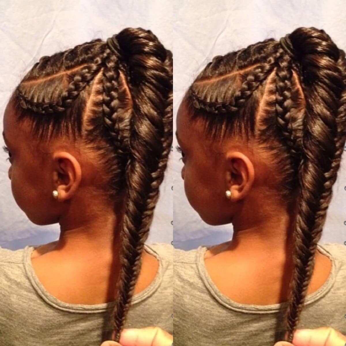 Half up braided hairstyles