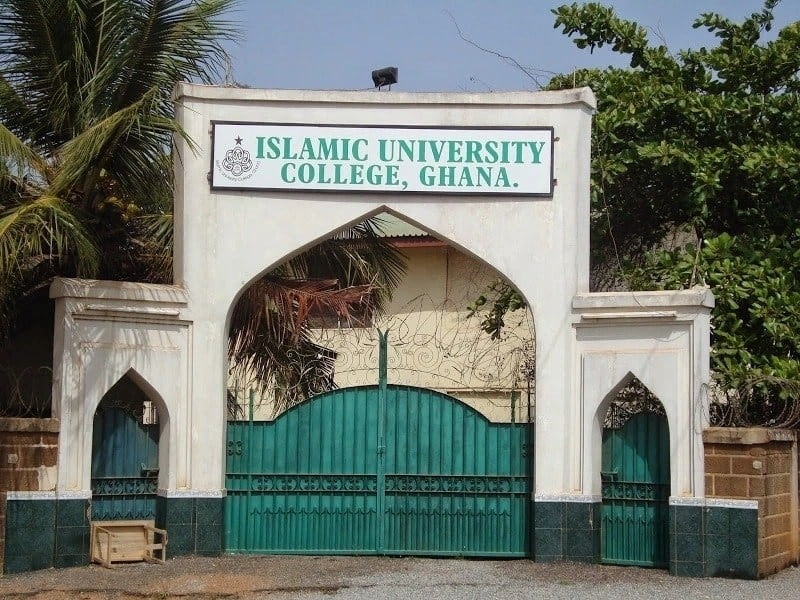 Islamic University College Ghana courses and admission requirements