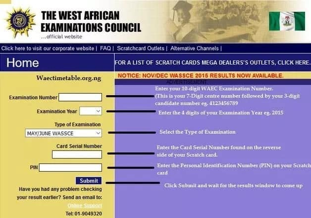 How to check WAEC results 2018