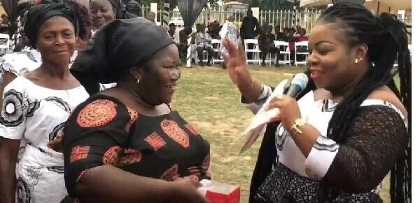 Freddie's Corner CEO dashes phones to sympathizers at his mother's funeral