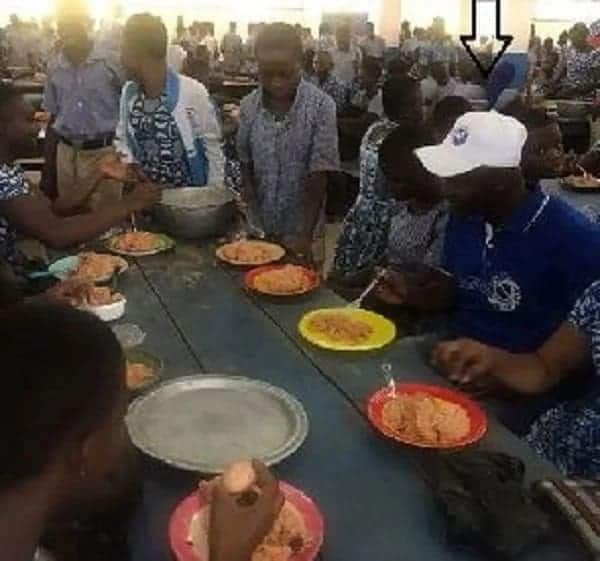 NDC MP and colleagues eat 'Free SHS food'