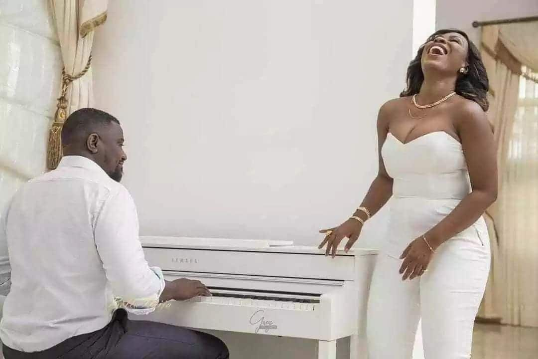 Photos of John Dumelo's reported angry and heartbroken ex-girlfriend