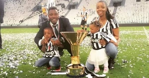 Photos: Meet the wife and children of Kwadwo Asamoah