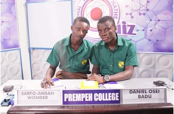 Prempeh College are wins of 2017 National Science & Maths Quiz