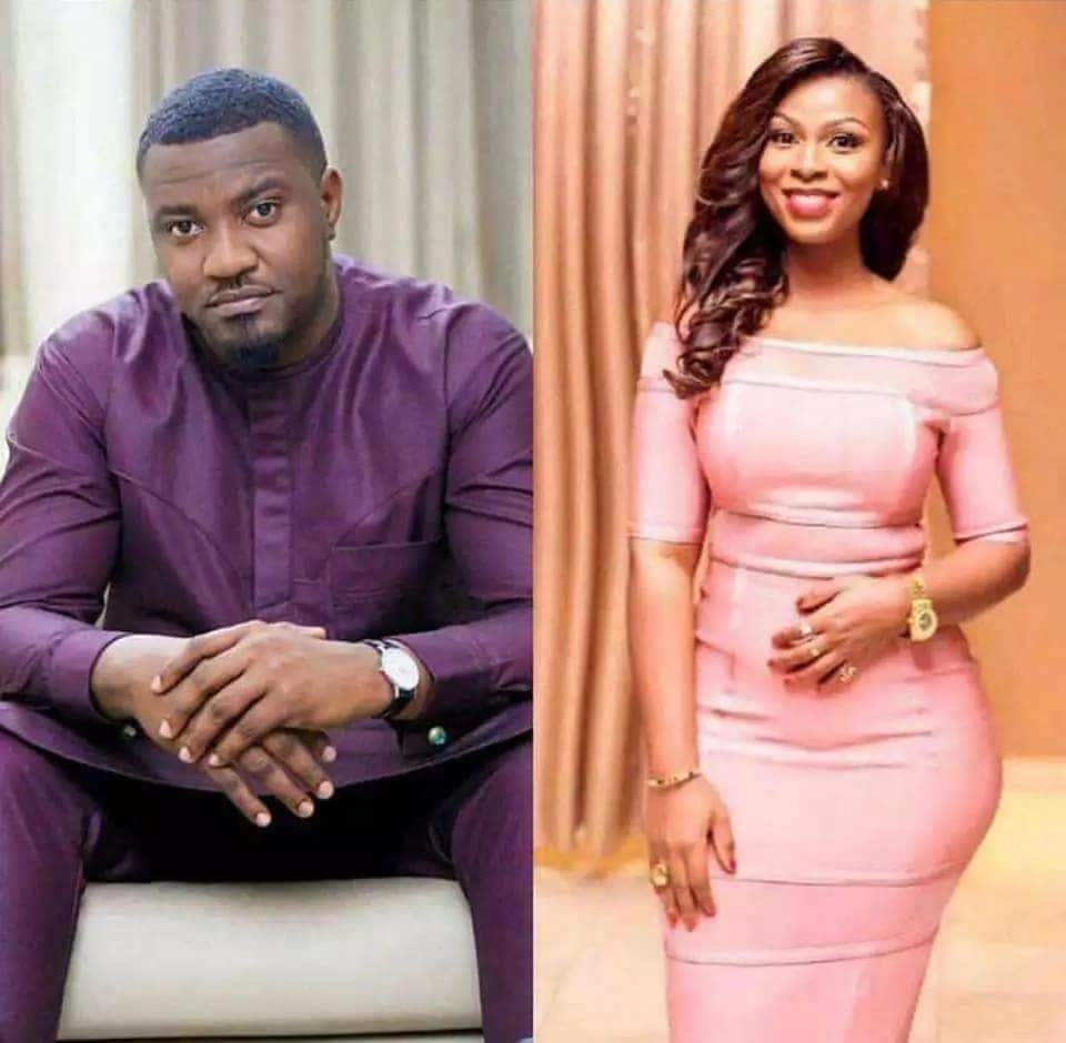 John Dumelo (left) has confirmed to friends that he will marry Mawunya (right) at a private ceremony on Saturday