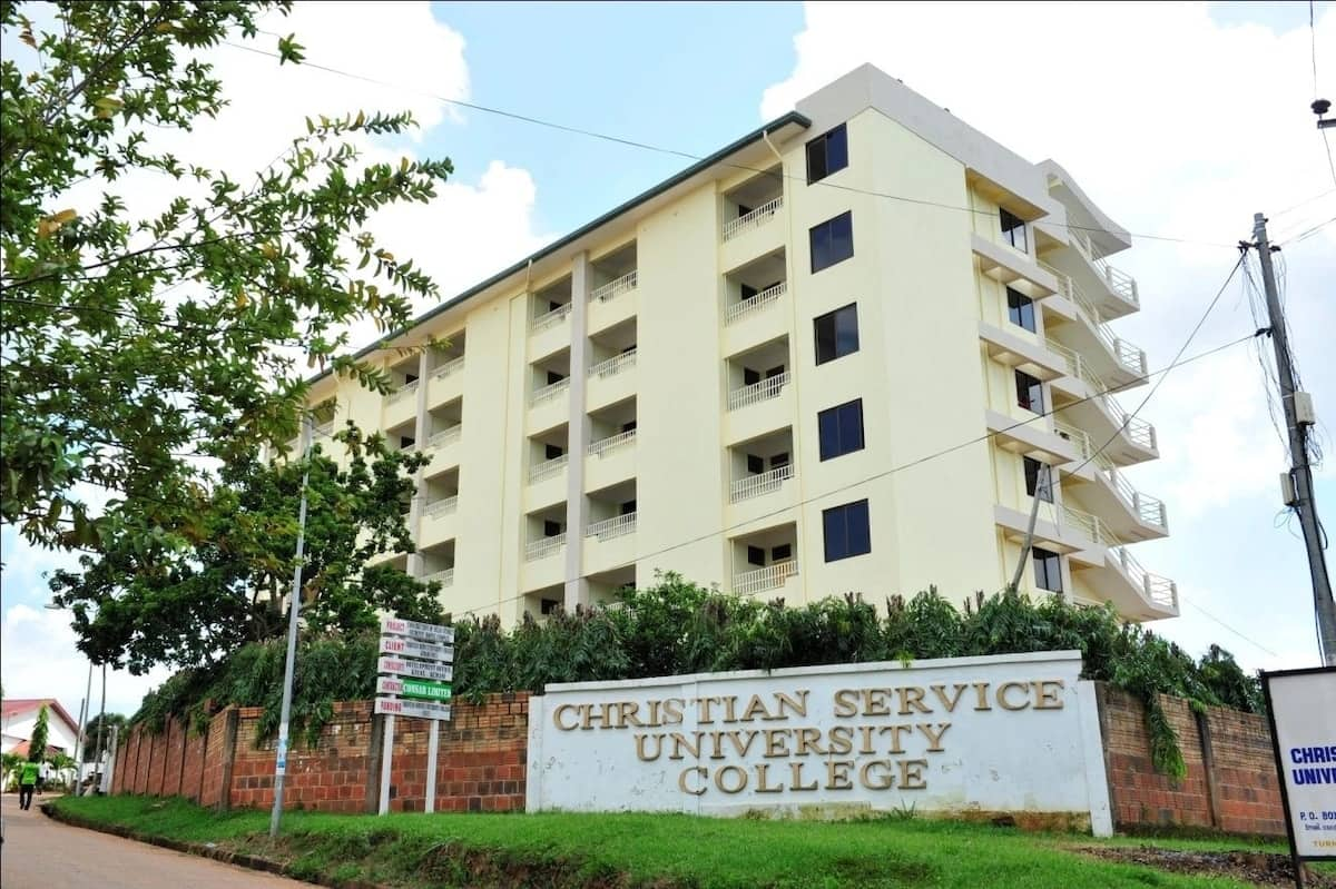 programmes offered at christian service university college christian service university college fees address of christian service university college courses offered at christian service university college