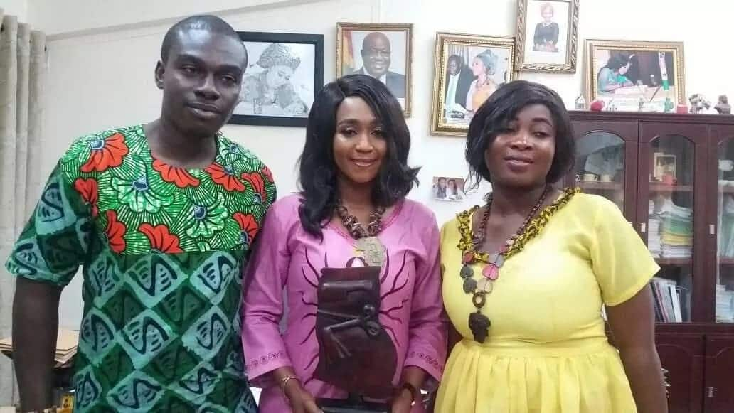 Hon. Barbara Asher Ayisi honored for her massive support during Wear Ghana Month