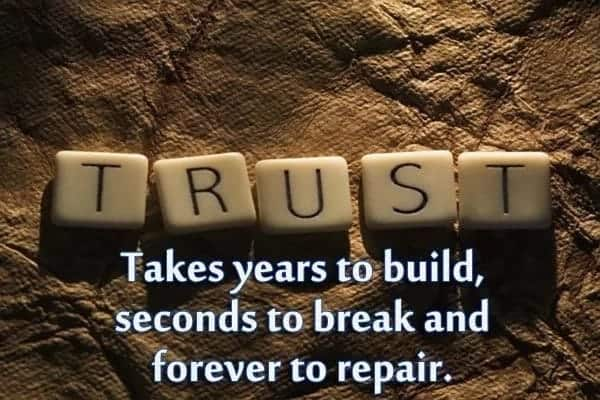 trust quotes for him trust and faith in a relationship quotes about trust