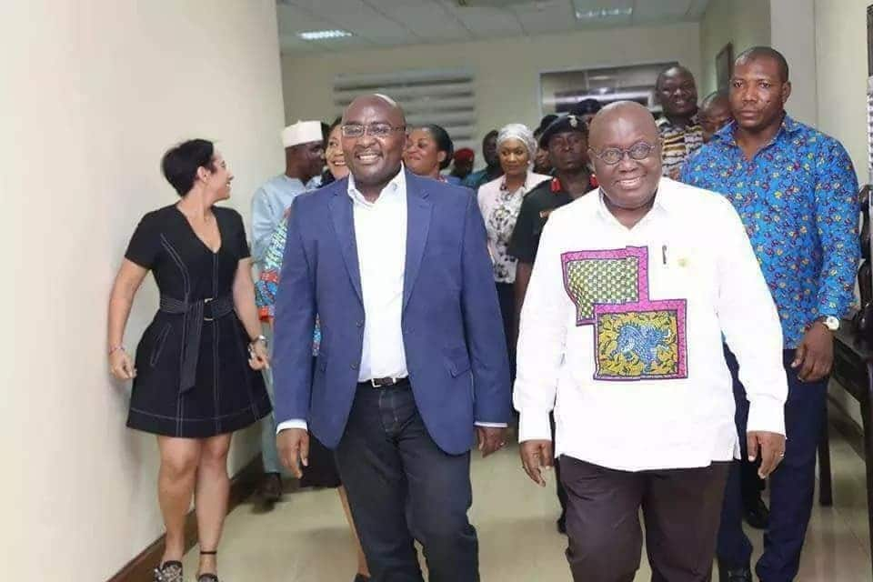 Bawumia arrives in Ghana to rousing welcome