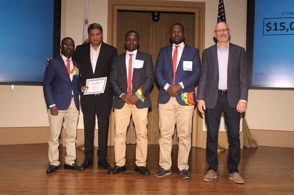 3 Ghanaian students win social innovation contest in USA