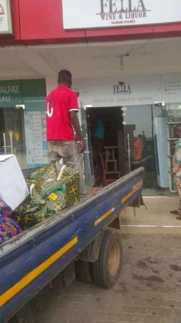 Fella Makafui's wine shop shut down by angry boyfriend