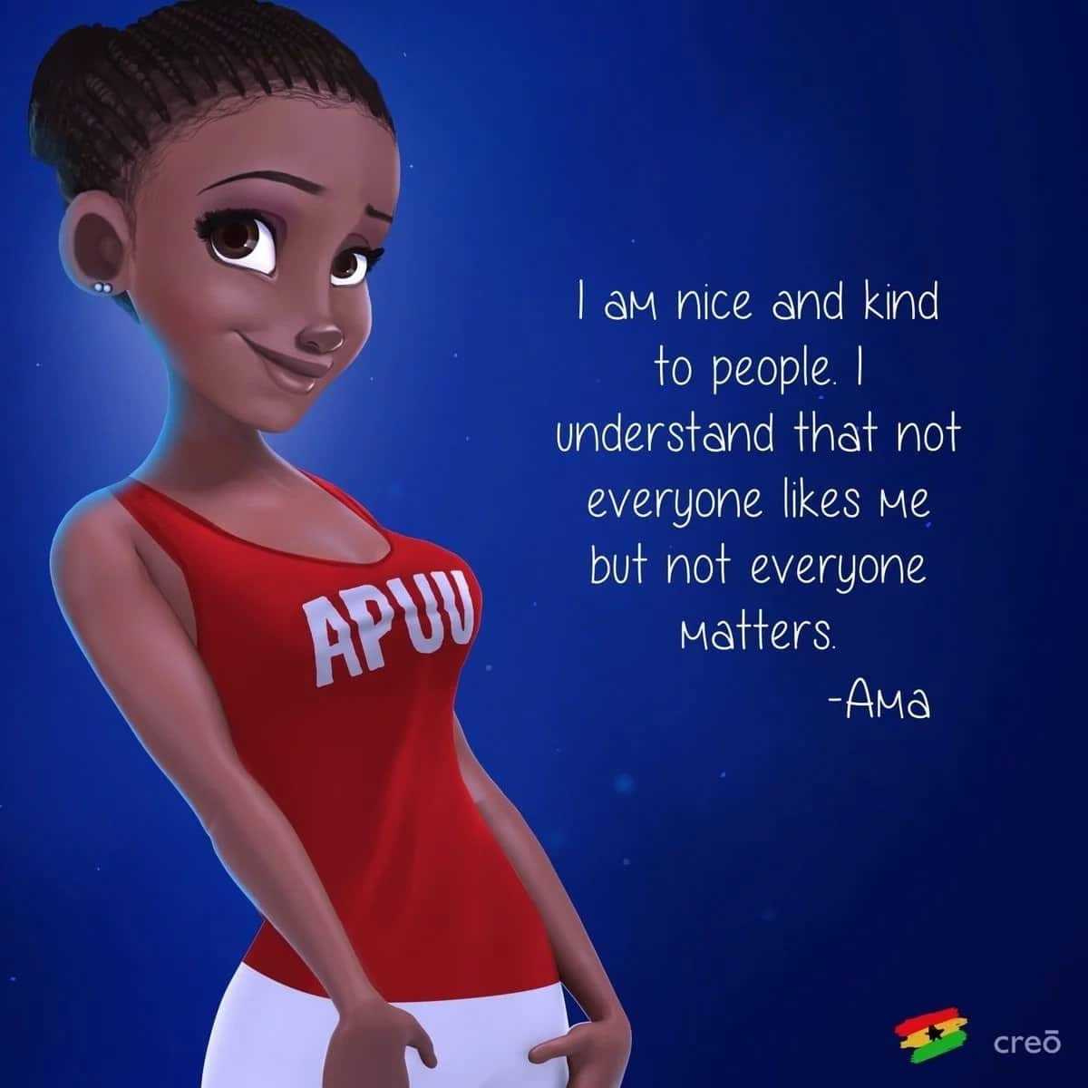 Apuu Ghanaba Images for Ladies - Find Out What Your Birth Say Says About You