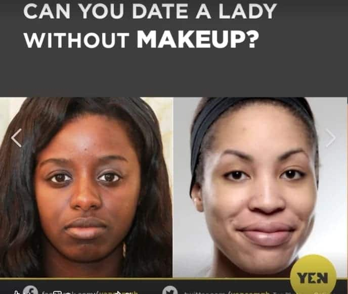 Poll: Most Ghanaian men prefer dating natural girls over those who use make up