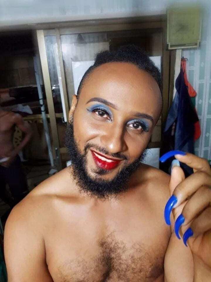 Wanlov stormed Girl Talk Concert dressed like a woman
