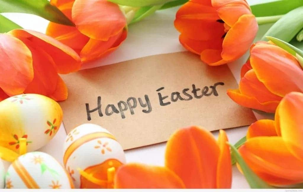 Best Easter wishes for mum