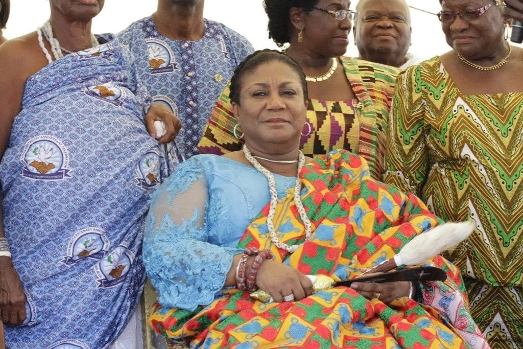 First lady enstooled queen mother of Great Ningo