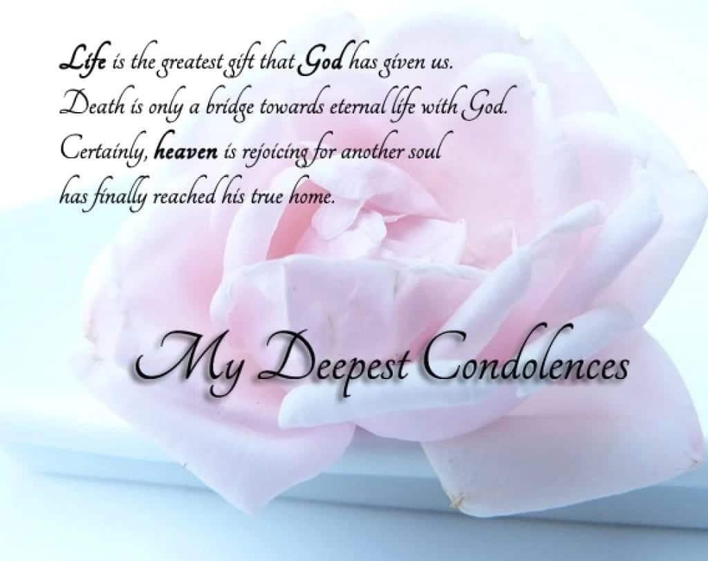 words of condolences, rest in peace quote, meaning of condolence