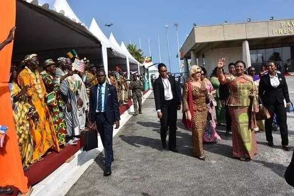 First Lady Rebecca Akufo-Addo fights child trafficking in Cote D'Ivoire