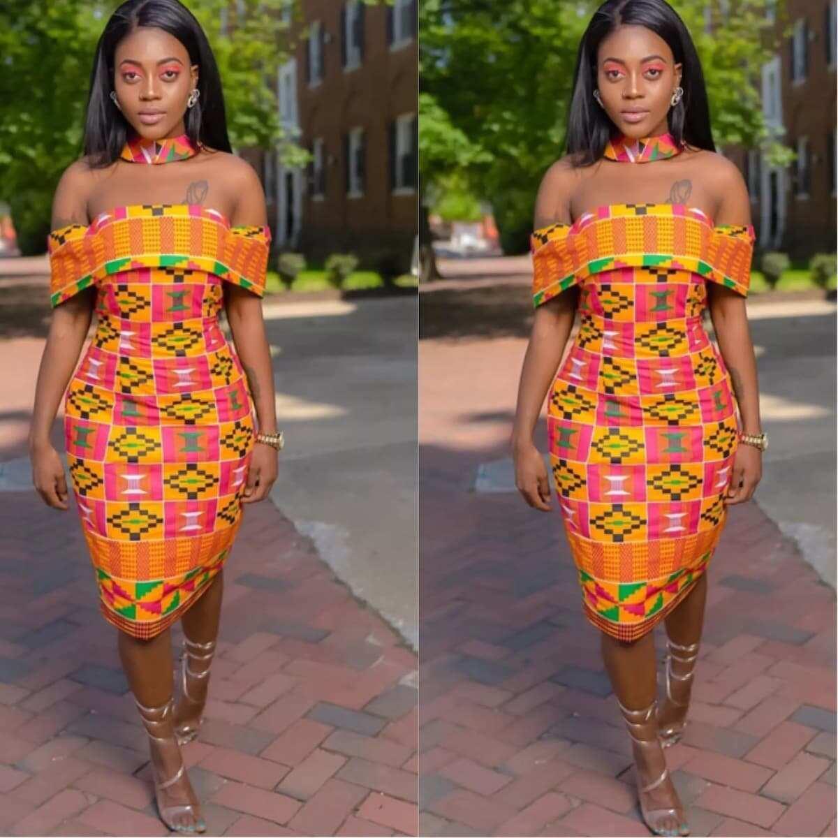 African Evening Dresses Short