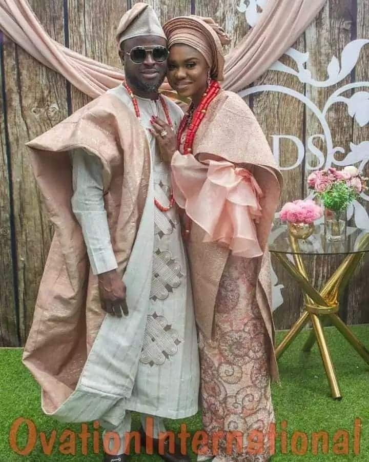More unseen photos from Becca's wedding to Tobi Sanni Daniel