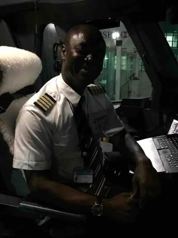 Meet Ghanaian pilot Captain Quainoo who flies the biggest plane in the world