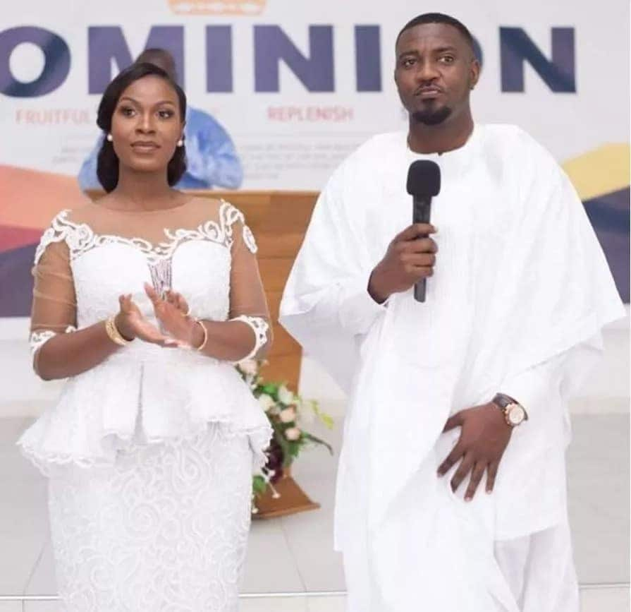 John Dumelo's wife speaks for the first time about her husband