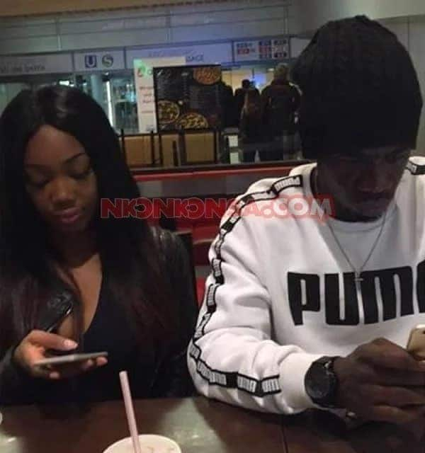 Afriyie Acquah has baby with another lady and Amanda it not happy