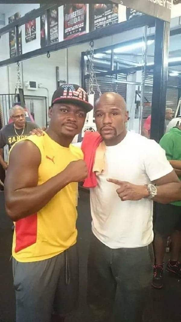 Even Mayweather admitted Bastie Samir's toughness when they trained together