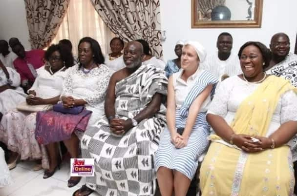 Photos of Gifty Anti's royal baby naming ceremony