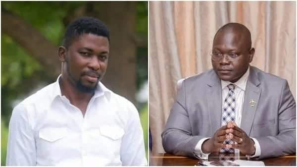I'm sorry to Abu Jinapor and Asenso-Okyere – A-Plus