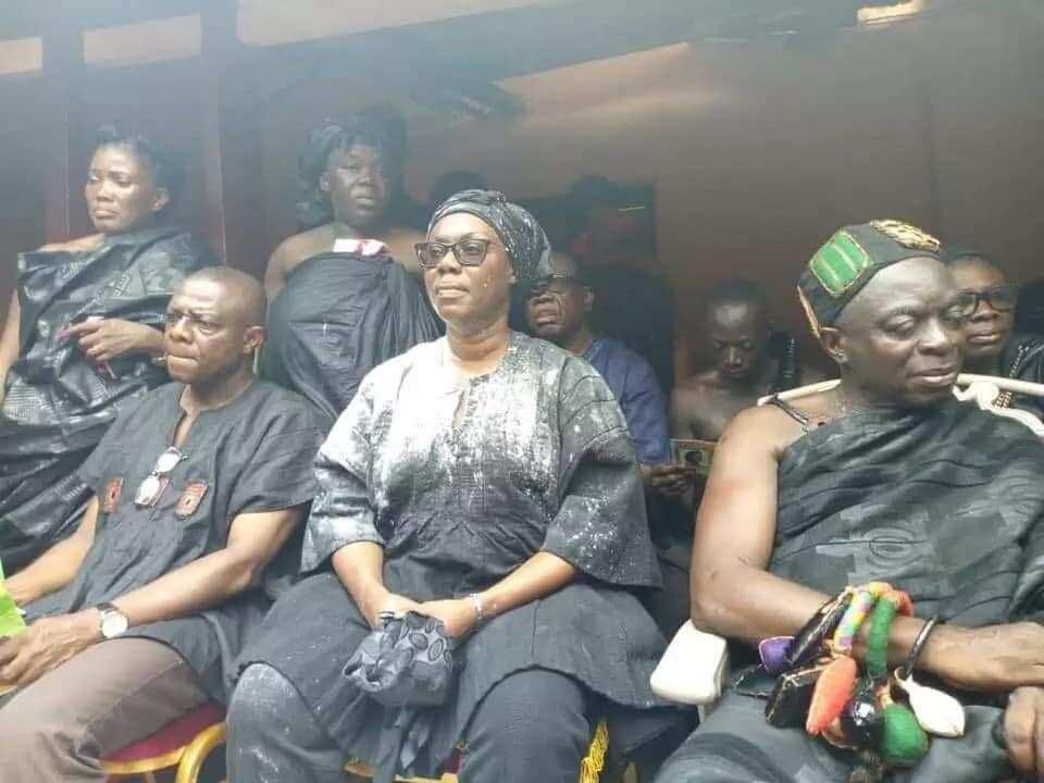 Ursula Owusu-Ekuful enstooled development chief of Akyem Asuom