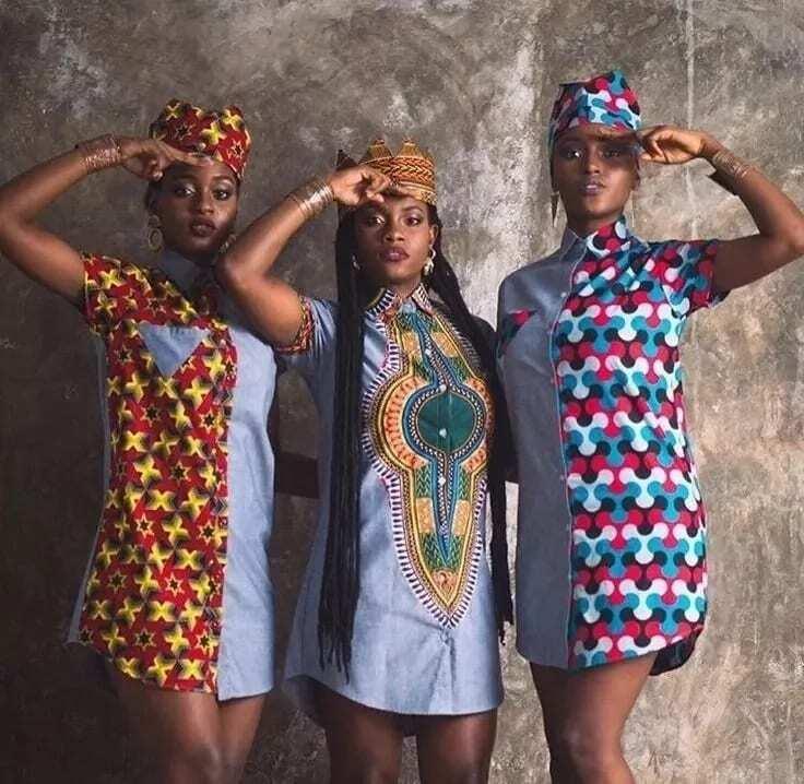 Latest styles of dresses in Ghana