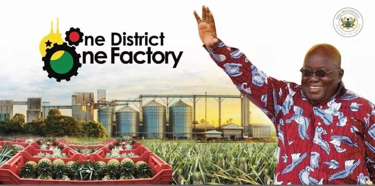 One district, one factory is real