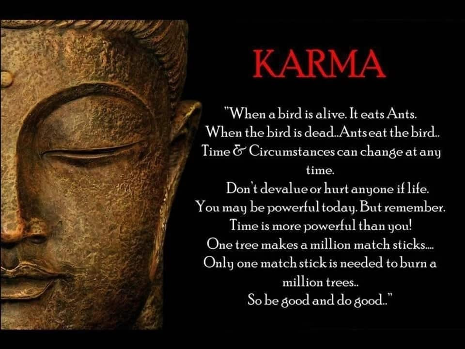 law of karma what is law of karma the law of karma quotes